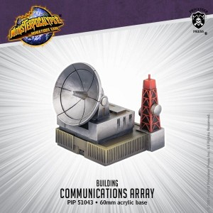 Monsterpocalypse Building - Communications Array