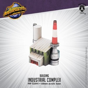 Monsterpocalypse Building - Industrial Complex