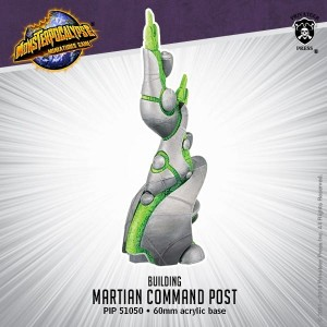 Monsterpocalypse Building - Martian Command Posy