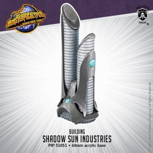 Monsterpocalypse Building - Shadow Sun Industries