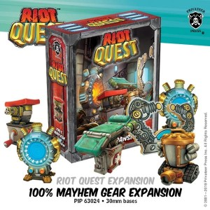 Riot Quest Exp. 100% Mayhem Gear
